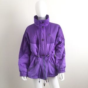 Vintage Pacific Trail 80s 90s Puffer Ski Jacket